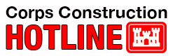 Corps Construction Hotline
